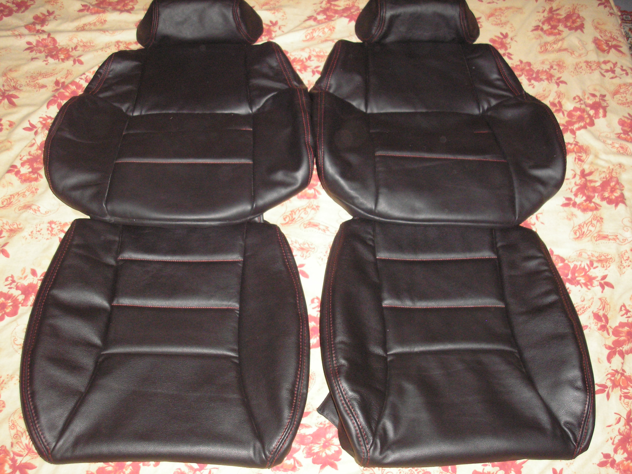 Interior Innovations Genuine Leather Seat Covers Nissan