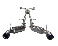 Z34 - Injen Dual 60mm Stainless Cat Back Exhaust