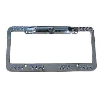 Universal License Plate Frame Backup Camera w Night Vision