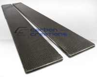 Carbon Creations Universal Carbon Side Skirt Splitters (Pair)