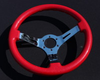 AVENUE STEERING WHEEL - Red