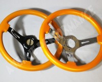 AVENUE STEERING WHEEL - Lambo Orange