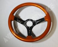 AVENUE STEERING WHEEL - Burn Orange