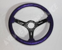 AVENUE STEERING WHEEL - Hydrodip Purple Mini Zebra