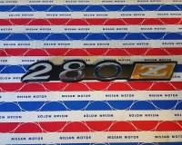 Genuine Datsun 280Z Fender Emblem NOS OEM at The Z Shop