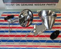 Datsun PL510 Fender mirrors at the Z Shop 1969-1973