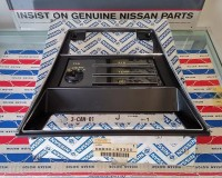 Datsun 240Z Late Heater Control Bezel Surround NOS OEM OOPat The Z Shop