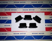 Genuine Datsun 240Z 260Z 280Z cowl tab inserts, 5 required, NOS OEM 70-78 at The Z Shop